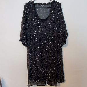 ***3 for $15 Torrid Black Dress Size Sz 0